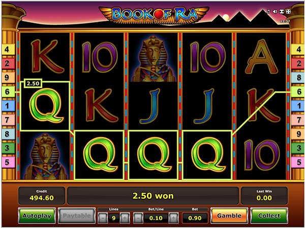 play book of ra classic slot online for free