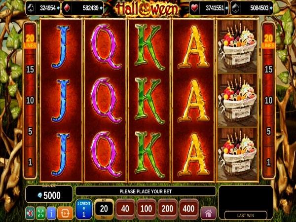 halloween slot machine free play