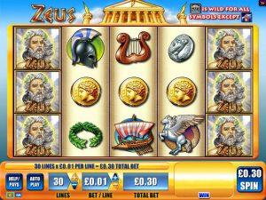 Zeus Slots Free Online