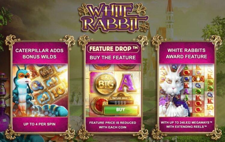 white rabbit megaways bonus buy feature