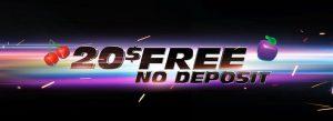 free cash no deposit bonus