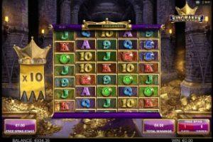 kingmaker megaways slot free spins bonus round
