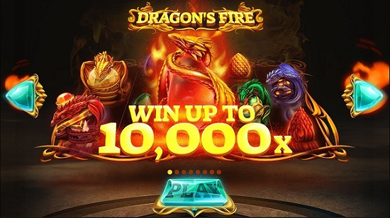 dragons fire slots biggest win