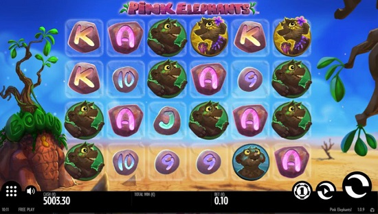pink elephants slot free game play