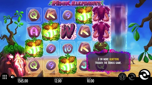 pink elephant slot free play bonus scatters