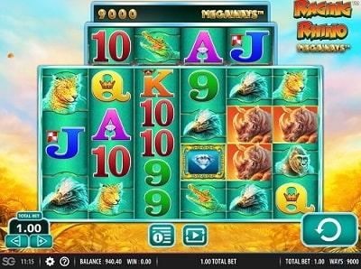 raging rhino megaways slot free slot