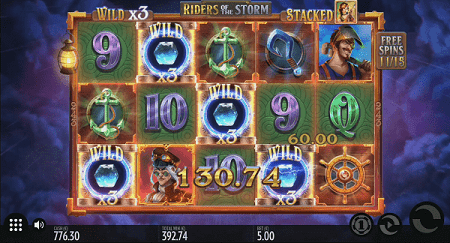 riders of the storm slot walking multiplier wilds