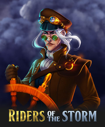 riders of the storm slot captain symbol
