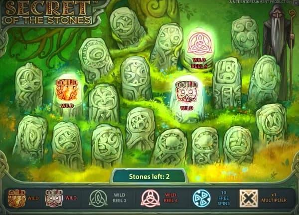secret of the stones bonus feature