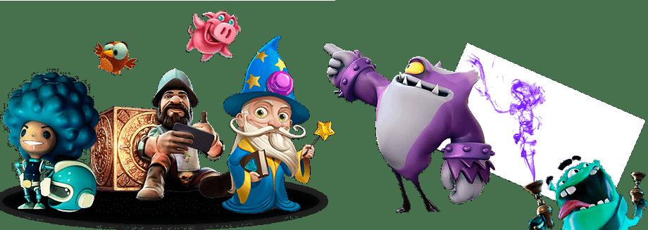 slots characters popular