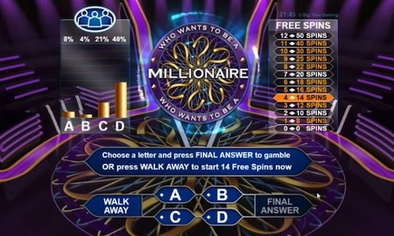 who wants to be a millionaire hot seat gamble