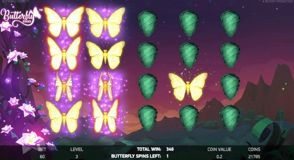 butterfly staxx free spins bonus