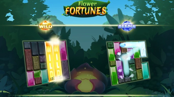 flower fortunes megaways wilds and respins