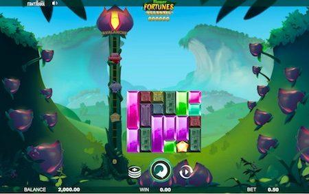 fortune flowers megaways slot base game