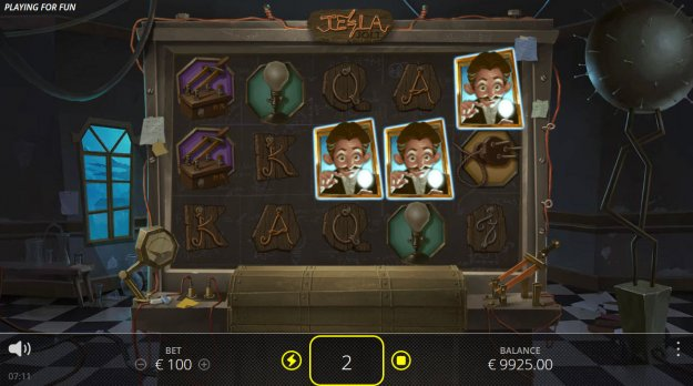 tesla jolt slot free play