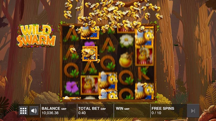 wild swarm slot bonus