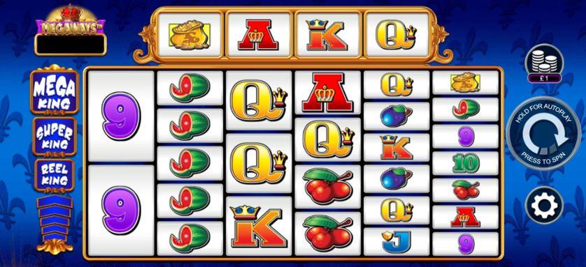 reel king megaways slot base game