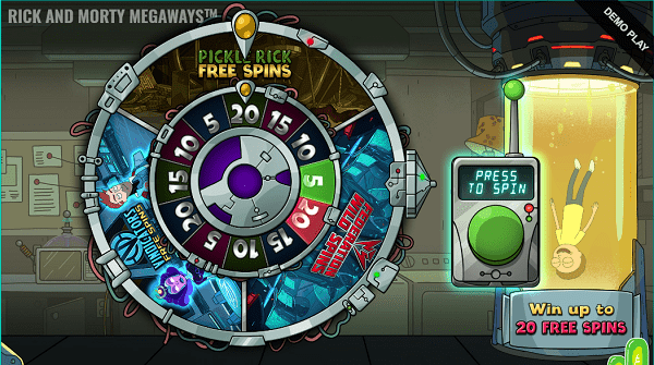 rick and morty megaways mystery spins