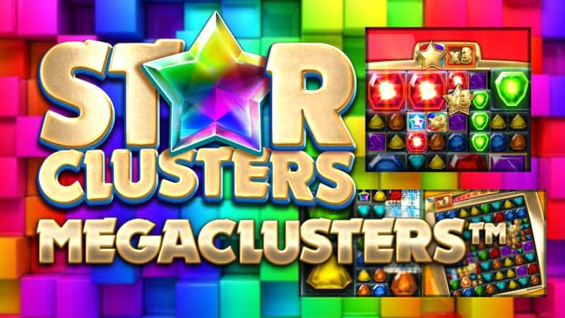 star clusters megaclusters slot big time gaming