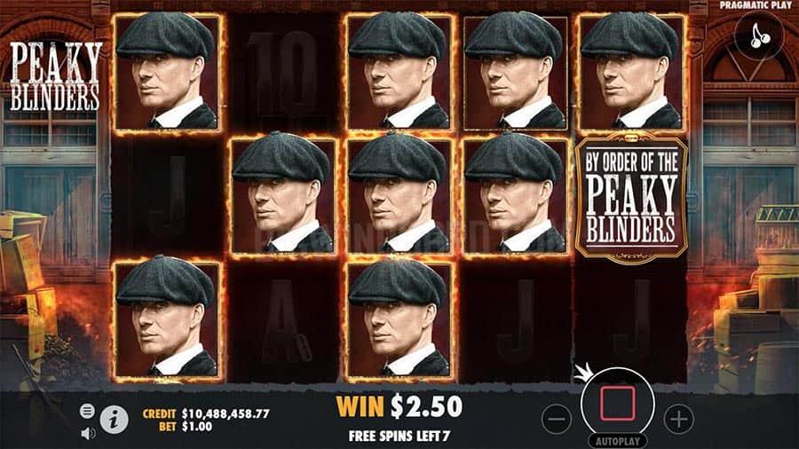 peaky blinders slot machine free play
