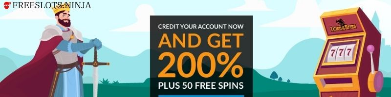 lord of the spins casino welcome bonus