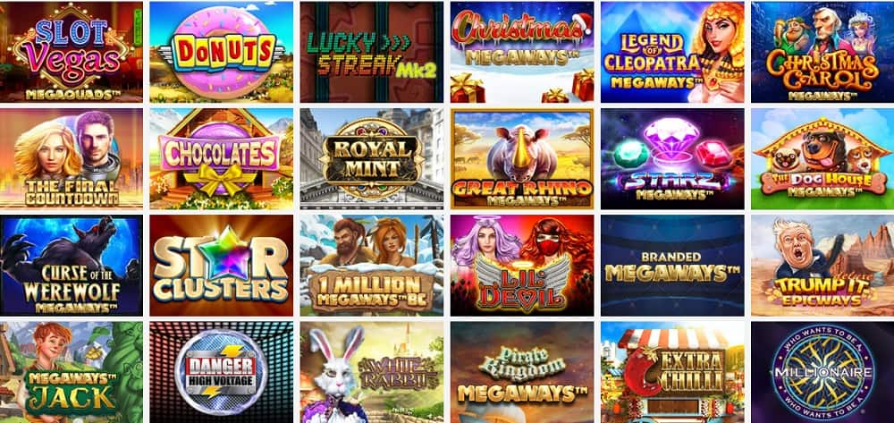 lord of the spins collection of games